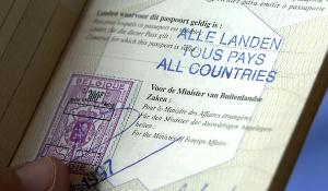How can the EU residents move freely inside the Schengen Visa area?