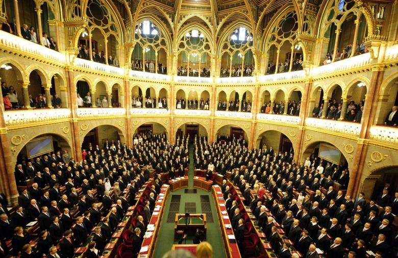 Stable Hungarian Government with 2/3 majority